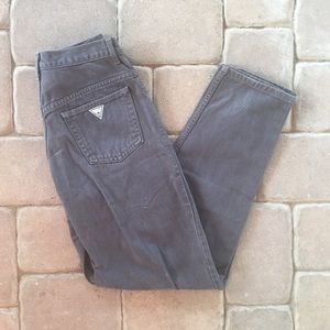 Vintage 80s Guess Jeans Denim Jeans Made in USA